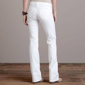 AG The Angel Bootcut White Jeans Sz 28